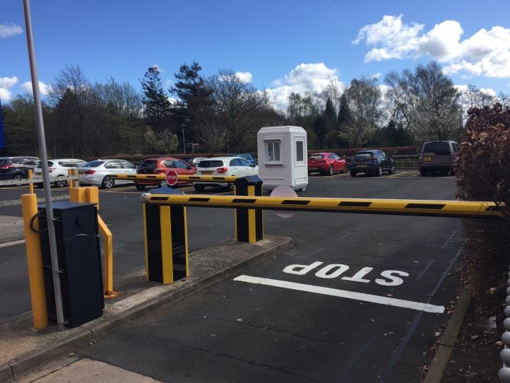 Automated Car Park Barriers