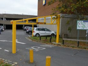 Defender Vehicle Height Restriction Barrier