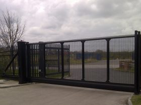Industrial Security Gates