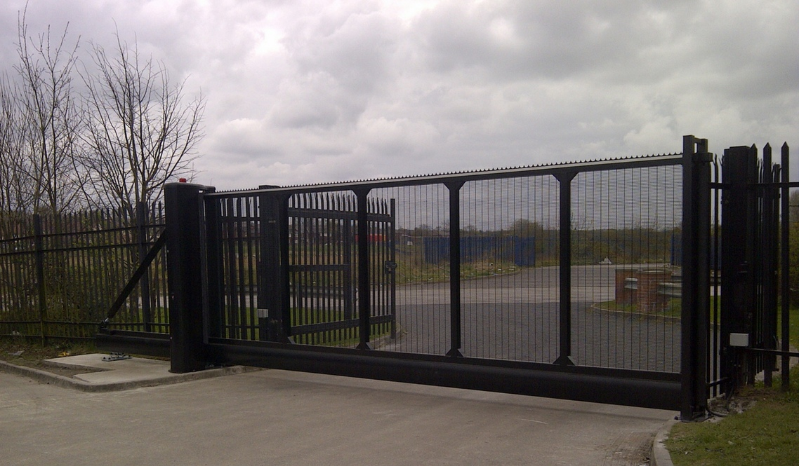 Security Gates Manual Or Fully Automated Security Gate