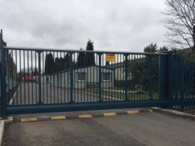 Industrial Estate Security Gate Supplier