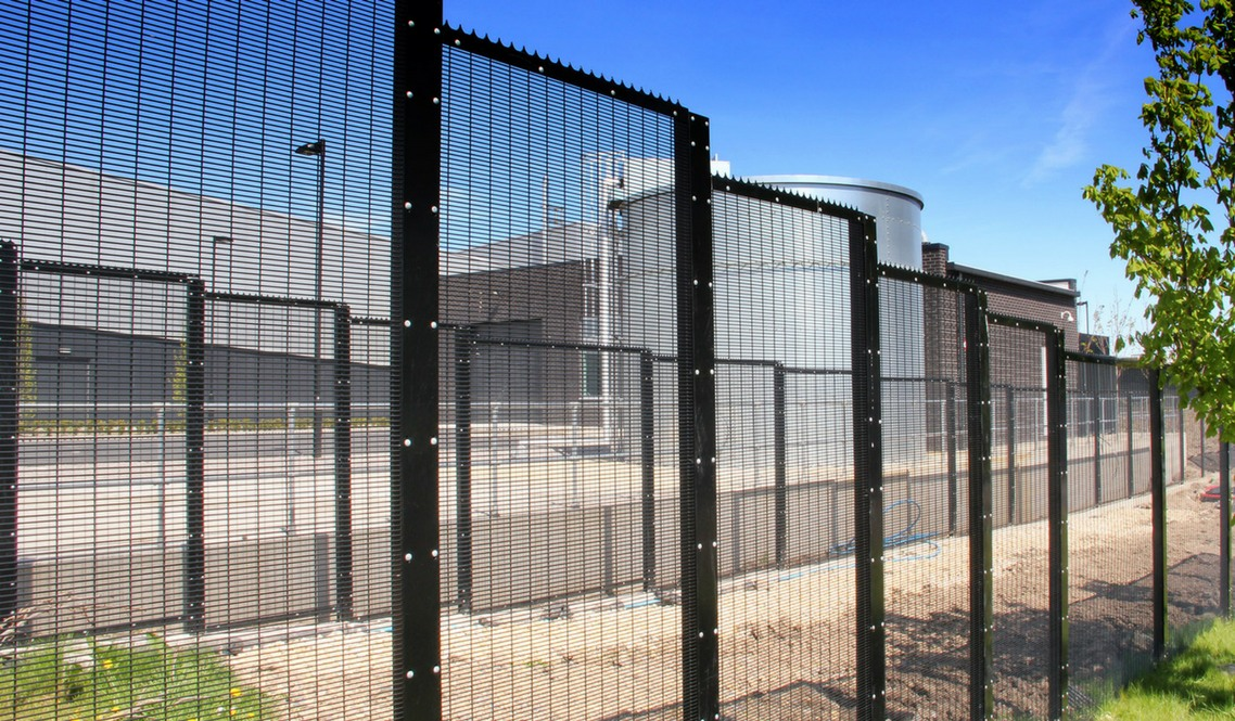 Security Fencing Steel Palisade Fencing Welded Mesh